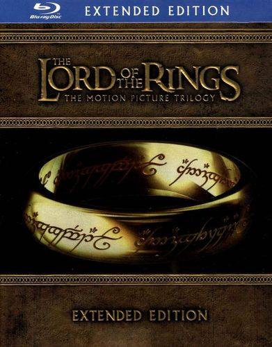 The Lord of the Rings: The Motion Picture Trilogy [Extended Edition] [15 Discs] [Blu-ray] 2629119