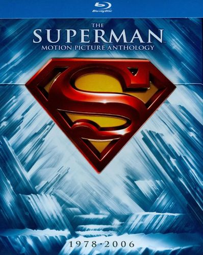 The Superman Motion Picture Anthology 1978-2006 [8 Discs] [Blu-ray] 2629146