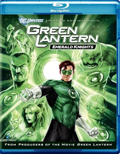 Green Lantern: Emerald Knights [Blu-ray] [2011] 2629155