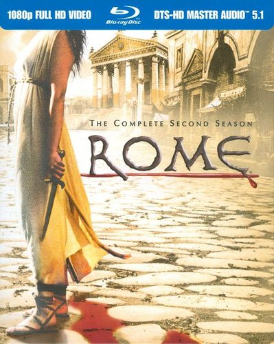 Rome: The Complete Second Season [5 Discs] [Blu-ray] 2629216