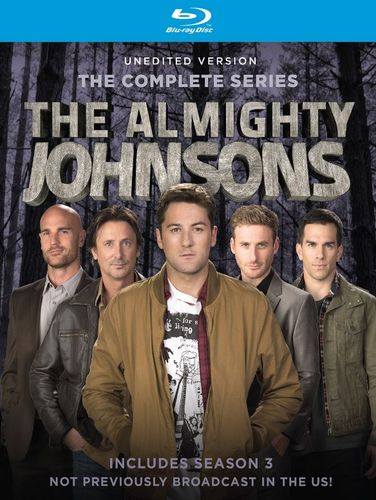 The Almightly Johnsons: Seasons 1-3 [2 Discs] [Blu-ray] 26329457
