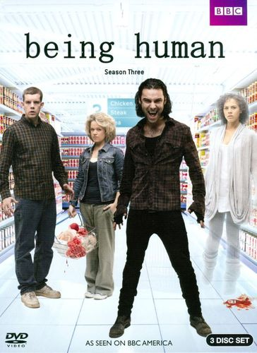 Being Human: Season Three [3 Discs] [DVD] 2635086