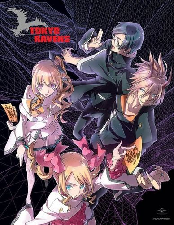 Tokyo Ravens: Season 1 - Part 1 [Limited Edition] [4 Discs] [Blu-ray/DVD] 26400252