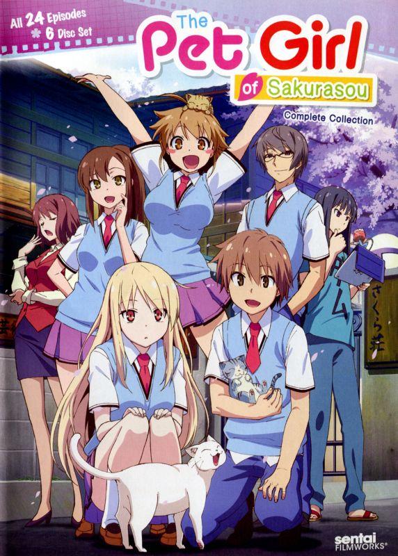 Pet Girl of Sakurasou: Complete Collection [6 Discs] [DVD] 26426249