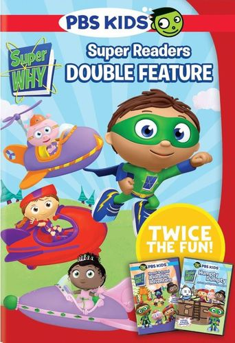 Super Why!: Super Reader Double Feature [DVD]