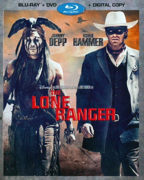 The Lone Ranger [2 Discs] [Includes Digital Copy] [Blu-ray/DVD] [2013] 2658045