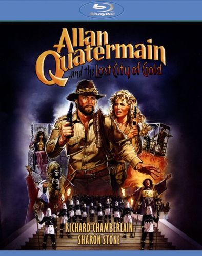 Allan Quatermain and the Lost City of Gold [Blu-ray] [1986] 26596018