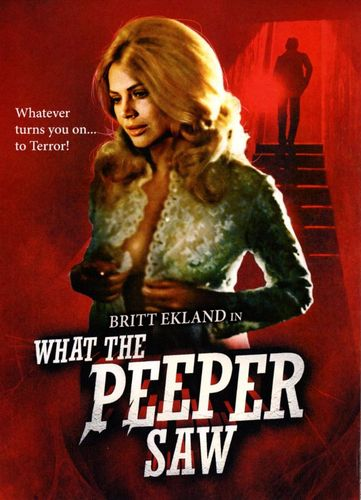 What the Peeper Saw [DVD] [1971] 26602249