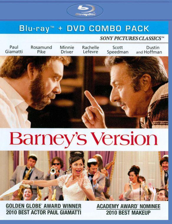 Barney's Version [2 Discs] [Blu-ray/DVD] [2010] 2662538