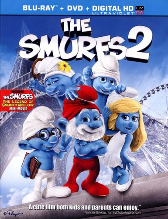 The Smurfs 2 [2 Discs] [Includes Digital Copy] [UltraViolet] [Blu-ray/DVD] [2013] 2667248