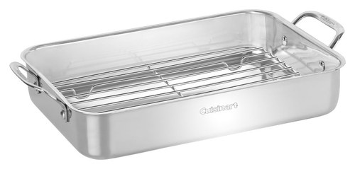 Cuisinart - Chef's Classic Lasagna Pan - Stainless-Steel 2669195