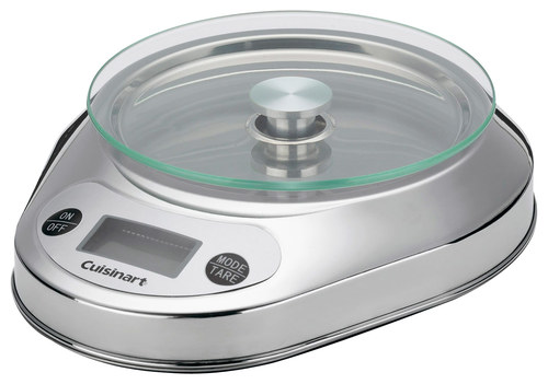Cuisinart - PrecisionChef Digital Kitchen Scale - Stainless-Steel 2669456
