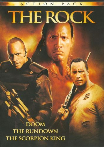The Scorpion King/The Rundown/Doom [Unrated] [3 Discs] [DVD] 2671663