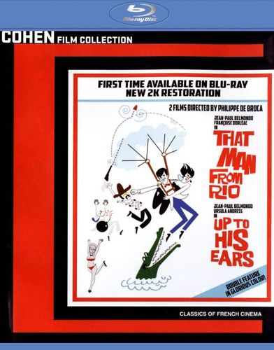 That Man from Rio/Up to His Ears [2 Discs] [Blu-ray] 26746582
