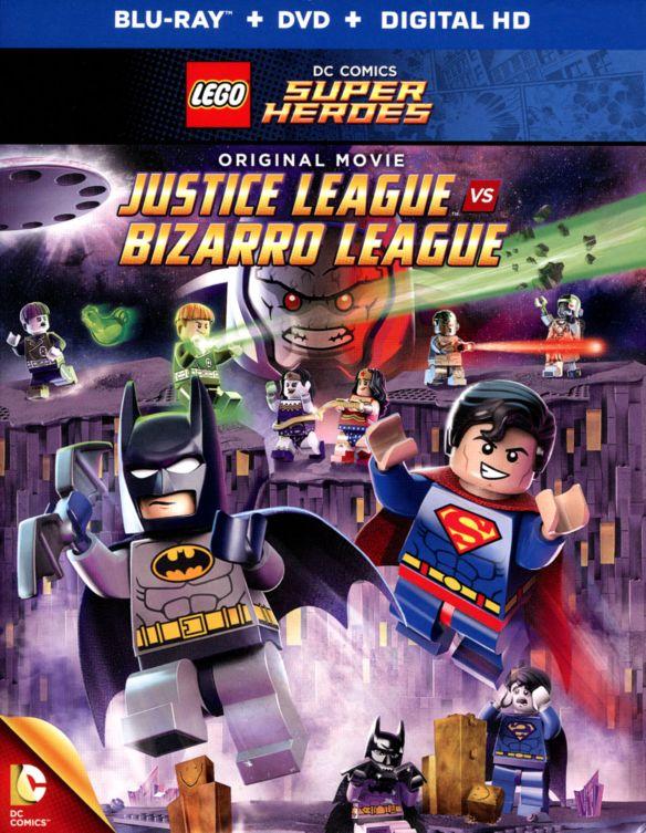 LEGO DC Comics Super Heroes: Justice League vs. Bizarro League [Blu-ray/DVD] [2015] 26746782