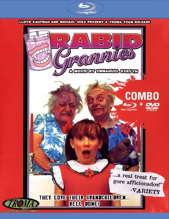 Rabid Grannies [2 Discs] [Blu-ray/DVD] [1989] 26754315