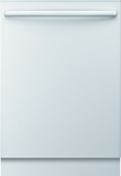 "Bosch SHX3AR72UC Ascenta 24"" Tall Tub Built-In Dishwasher with Stainless-Steel White"