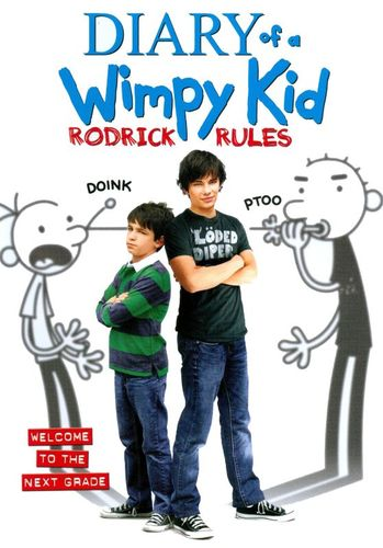Diary of a Wimpy Kid: Rodrick Rules [DVD] [2011] 2683798