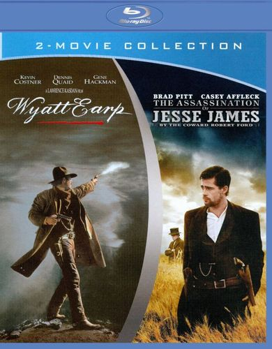 Wyatt Earp/The Assassination of Jesse James by the Coward Robert Ford [Blu-ray] 2684254