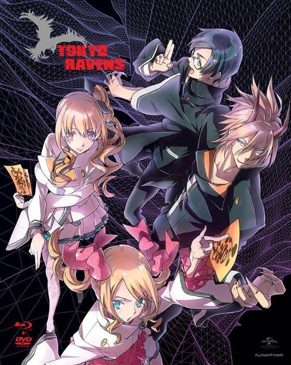 Tokyo Ravens: Season 1 - Part 1 [4 Discs] [Blu-ray/DVD] 2687449