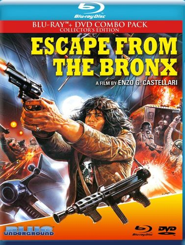 Escape from the Bronx [2 Discs] [Blu-ray/DVD] [1983] 26978181
