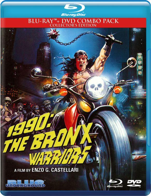 The Bronx Warriors [2 Discs] [Blu-ray/DVD] [1982] 26978205