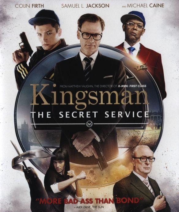 Kingsman: The Secret Service [Blu-ray] [2015] 2700041