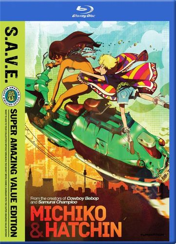 Michiko & Hatchin: The Complete Series [S.A.V.E.] [4 Discs] [Blu-ray] 27005191