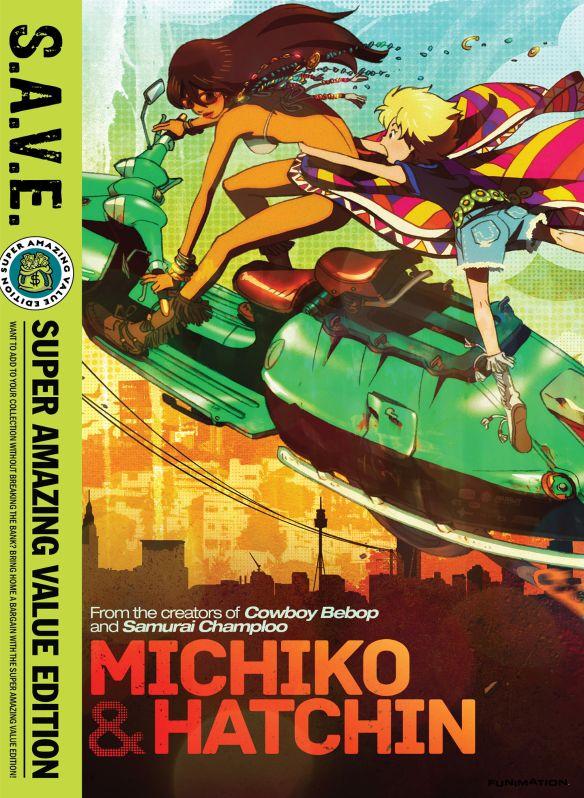 Michiko & Hatchin: The Complete Series [S.A.V.E.] [4 Discs] [DVD] 27005206