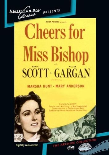 Cheers for Miss Bishop [DVD] [1941] 27017168