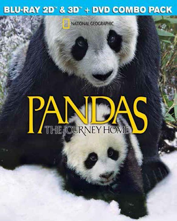 Pandas: The Journey Home [3D] [Blu-ray/DVD] [Blu-ray/Blu-ray 3D/DVD] [2014] 27096146