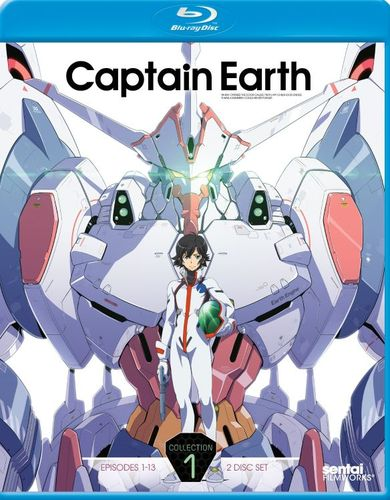 Captain Earth: Collection 1 [2 Discs] [Blu-ray] 27133171