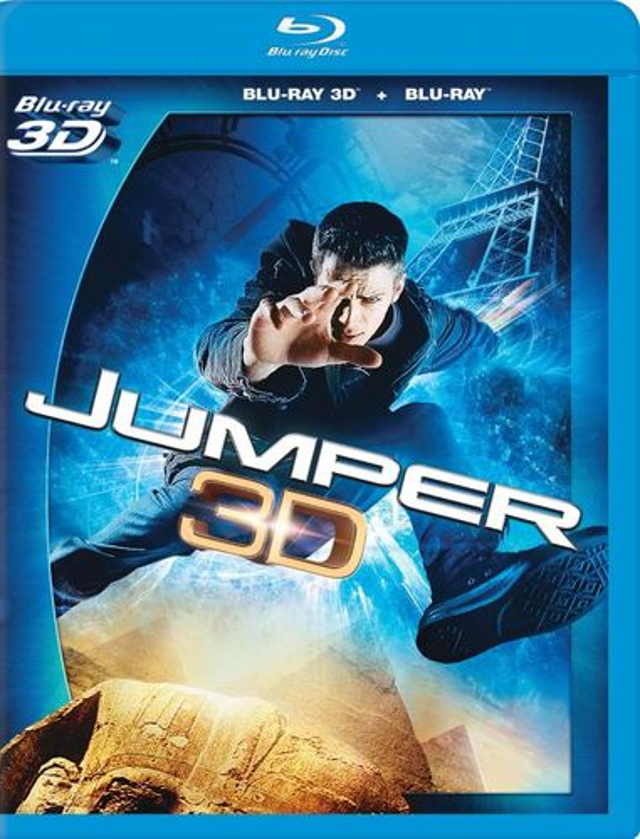Jumper [3D] [Blu-ray] [Blu-ray/Blu-ray 3D] [2008] 2718067