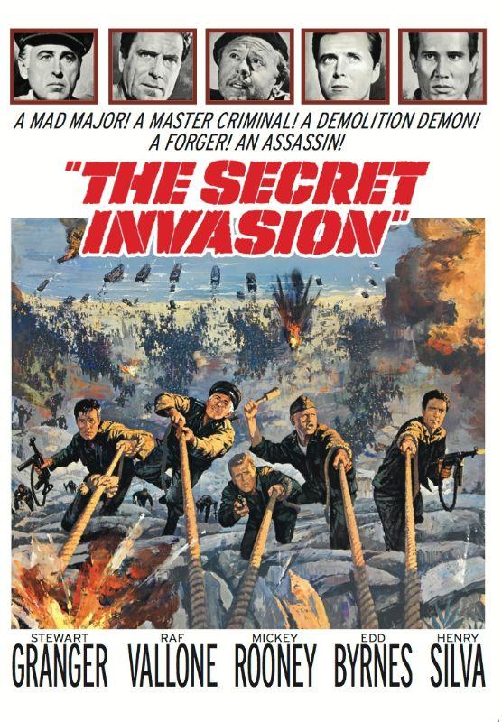 The Secret Invasion [DVD] [1964] 27411202