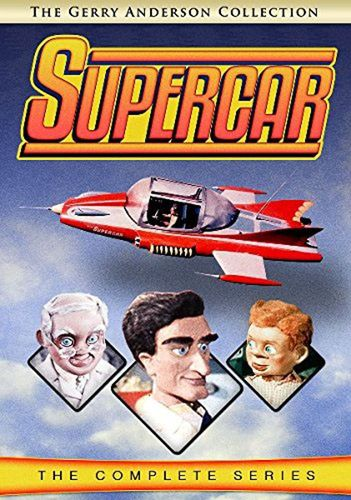 Supercar: The Complete Series [5 Discs] [DVD] 27489359