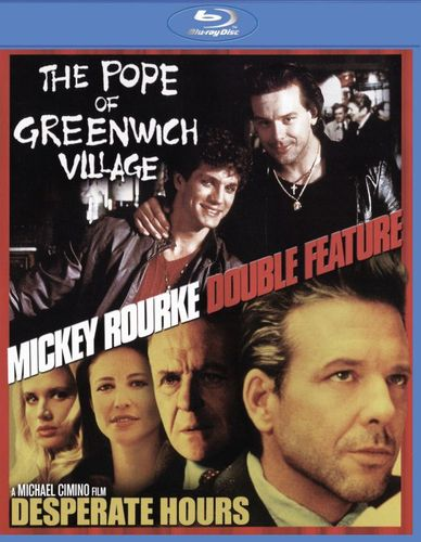 Mickey Rourke: The Pope of Greenwich Village/Desperate Hours [Blu-ray] 27506527
