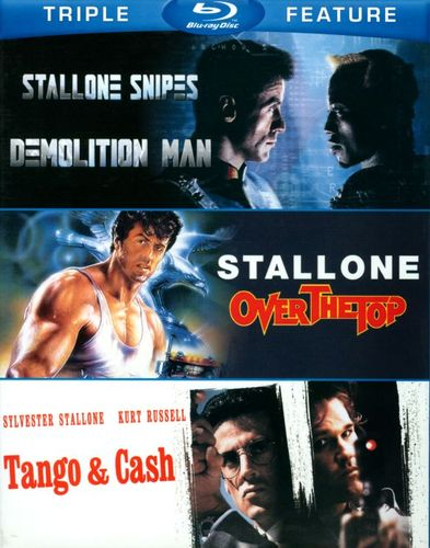 Demolition Man/Over the Top/Tango & Cash [3 Discs] [Blu-ray] 2750861
