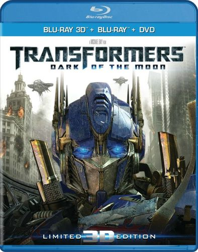 Transformers: Dark of the Moon [Ultimate Edition] [3D] [Blu-ray/DVD] [Blu-ray/Blu-ray 3D/DVD] [2011] 27552269