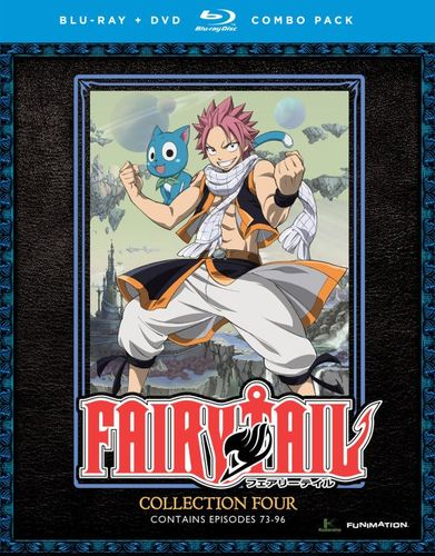 Fairy Tail: Collection Four [8 Discs] [Blu-ray/DVD] 27608302