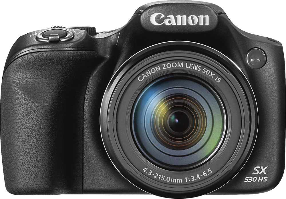 Canon Powershot Digital Camera Sx530 With 50x Optical Zoom, Built-in Wi-fi & Nfc - Black