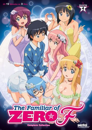 The Familiar of Zero F: Season 4 [2 Discs] [DVD] 27616223