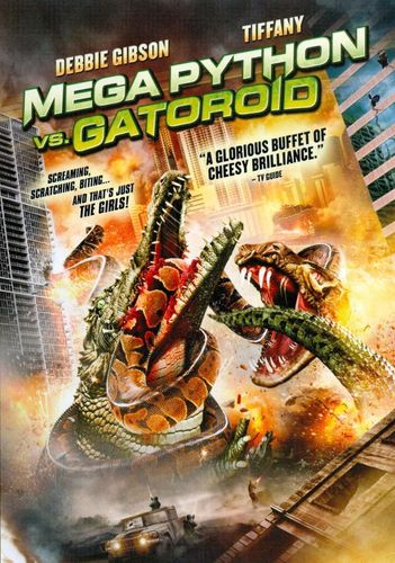 Mega Python vs. Gatoroid [DVD] [2011] 2762412