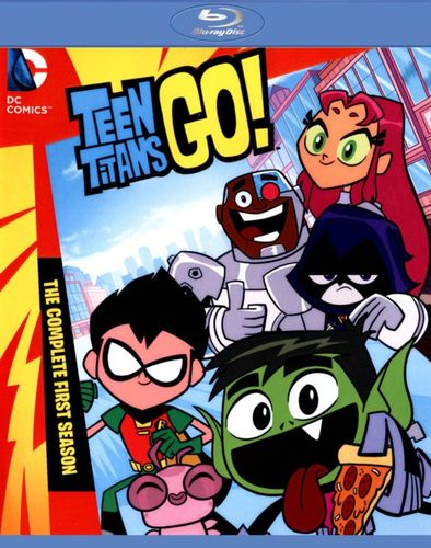 Teen Titans Go!: The Complete First Season [2 Discs] [Blu-ray] 27666536
