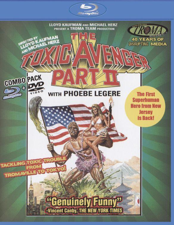 The Toxic Avenger, Part II [2 Discs] [Blu-ray/DVD] [1989] 27684325