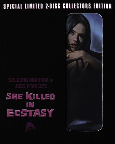 She Killed In Ecstasy [2 Discs] [Blu-ray/CD] [Blu-ray] [1970] 27726378