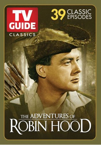 TV Guide Classics: The Adventures of Robin Hood - 39 Classic Episodes [3 Discs] [DVD] 27920521