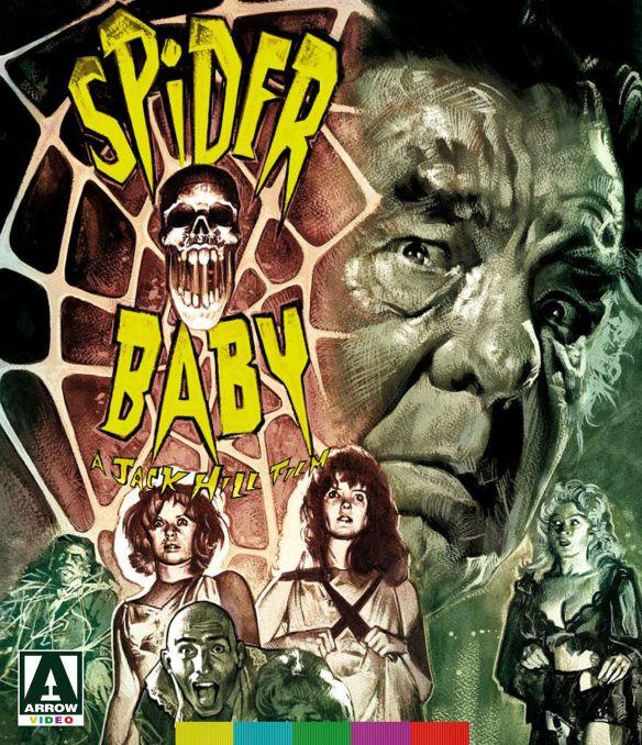 Spider Baby [2 Discs] [Blu-ray/DVD] [1968] 27930272