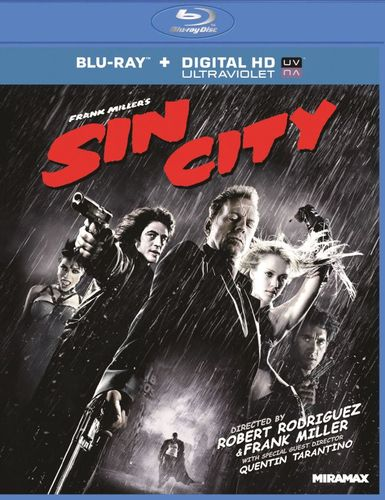 Sin City [Unrated] [Includes Digital Copy] [UltraViolet] [Blu-ray] [2005] 2799121