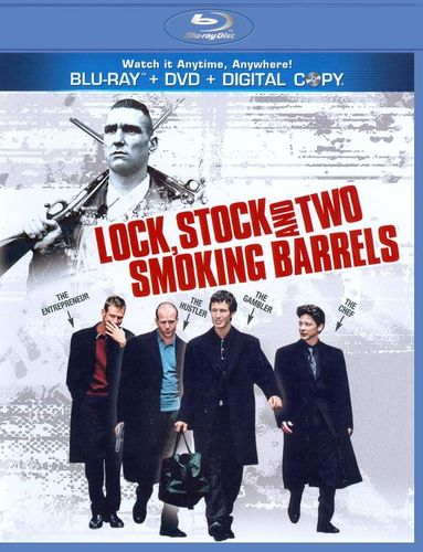 Lock, Stock and Two Smoking Barrels [2 Discs] [With Tech Support for Dummies Trial] [Blu-ray/DVD] [1998] 2833305