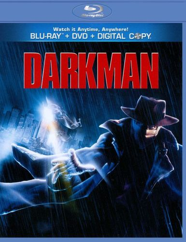 Darkman [2 Discs] [With Tech Support for Dummies Trial] [Blu-ray/DVD] [1990] 2833396